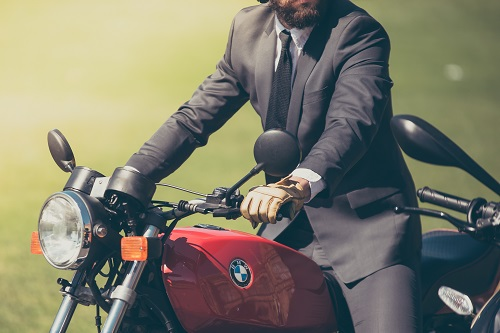 Picture of biker