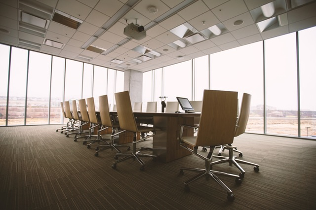 Picture of corporate meeting room