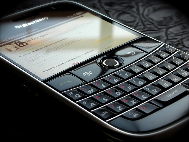 Pic of Blackberry Bold