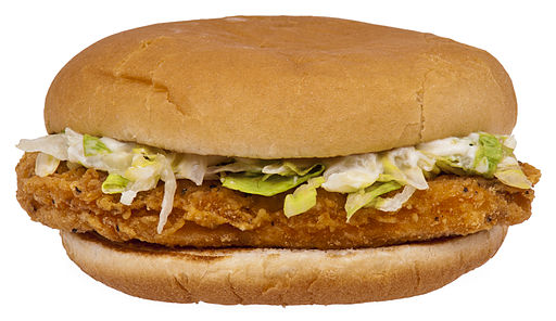McChicken burger